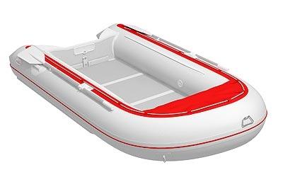 надувная лодка badger classic line