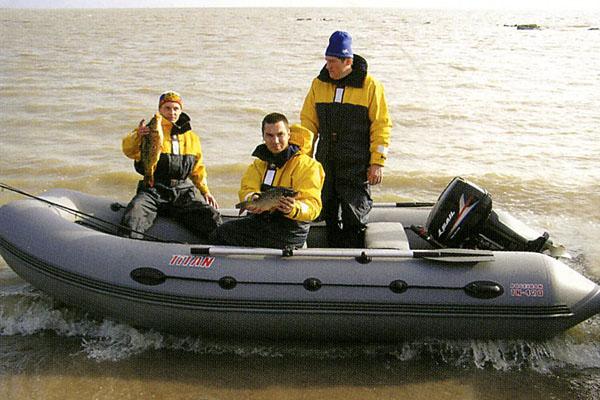 надувная лодка titan
