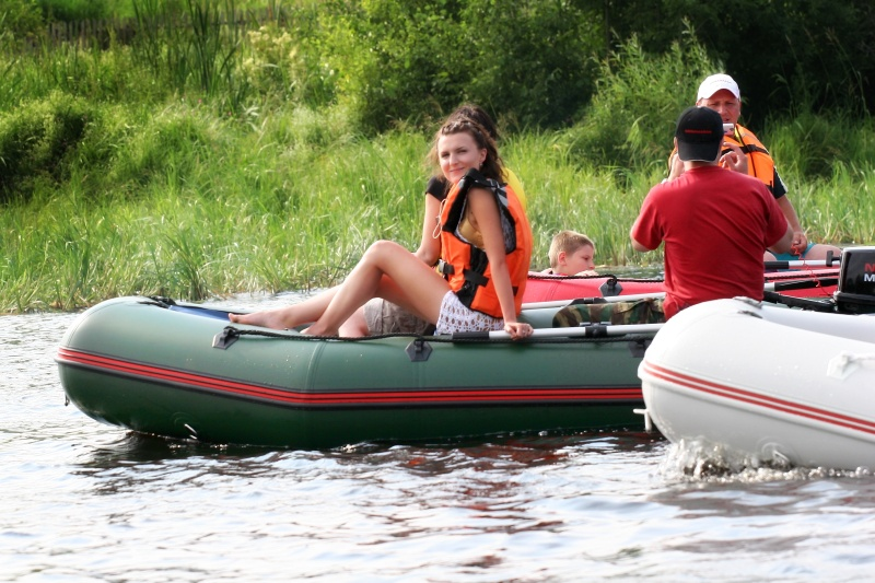комплектация лодки пвх с мотором для гимс